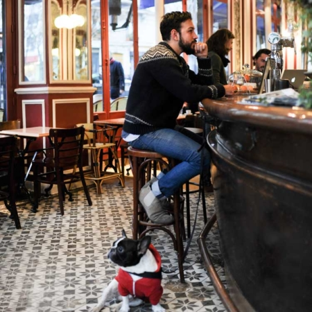 Edible Paris: man & dog