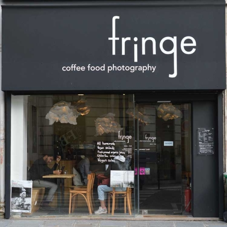 Edible Paris: Fringe coffee shop